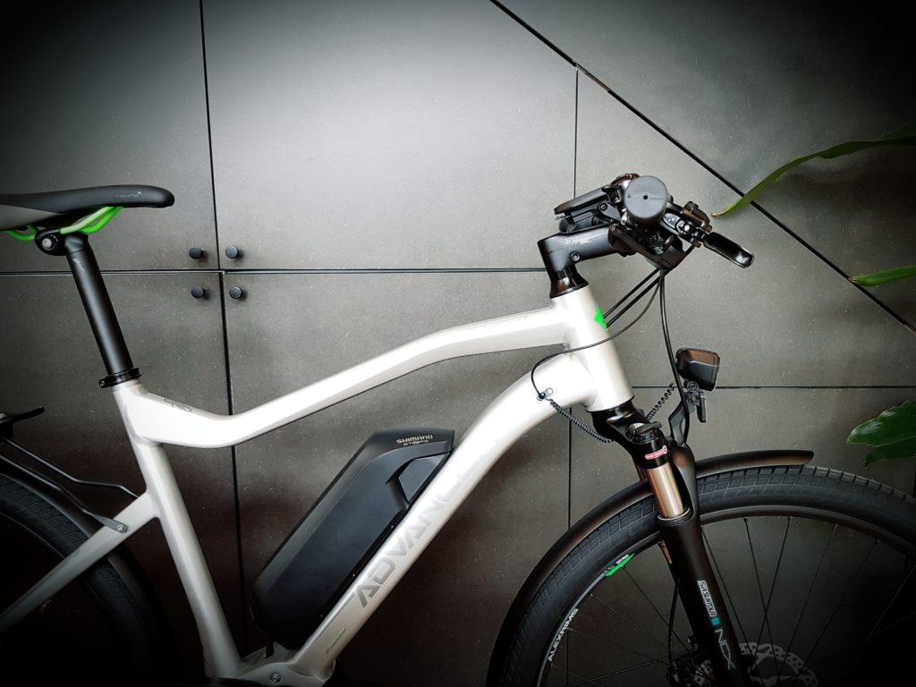 Advancer Voyager aluminium brossé